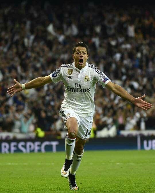Champions League: Real Madrid 1- Atco.Madrid 0 GOL DE CHICHARITO