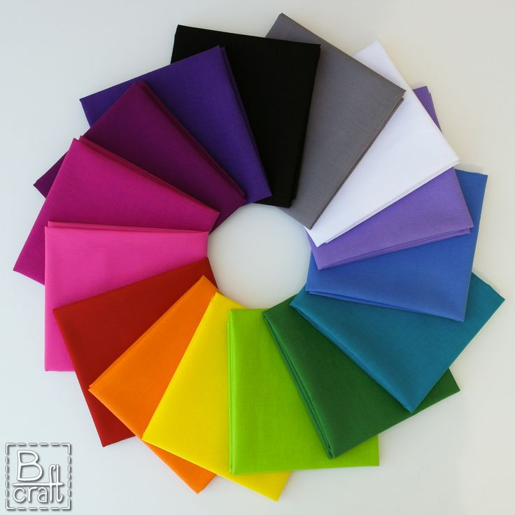 Play of colors. Classic Cottons solids