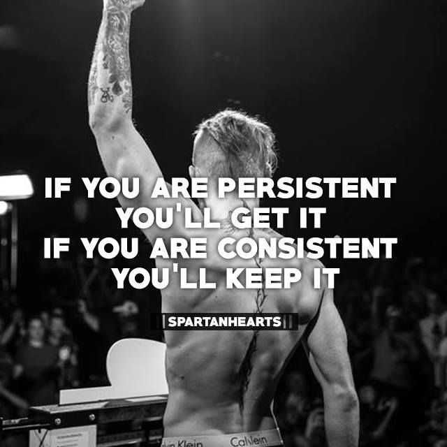 Motivational Quotes Consistency And Persistency: My Consistency Ruins Any Persistence I Have.