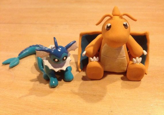 Polymer Clay Pokemon Sculpture Commissions by PolymerParrot
