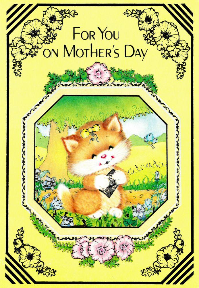 Image result for vintage mothers day cards 1980s uk