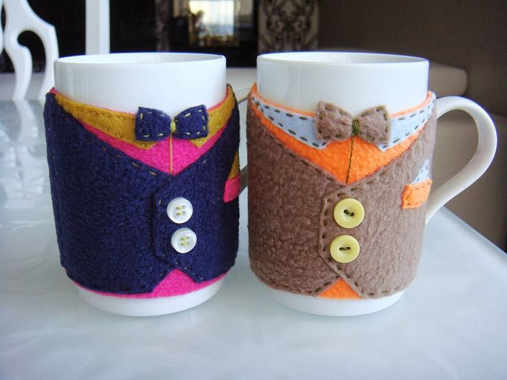"Master class ""Suit for mugs"" - Fair Masters - handmade, handmade"