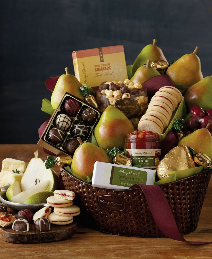 22 best black friday and cyber monday images on pinterest food order the deluxe favorites gift basket from harry david for more than 80 years weve delivered expertly crafted delight negle Image collections