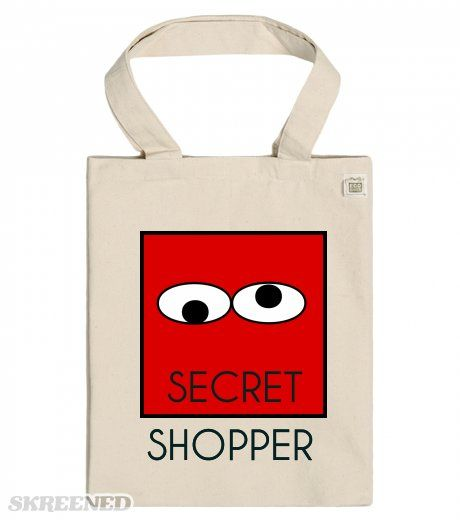 SECRET SHOPPER ECO Tote babgs