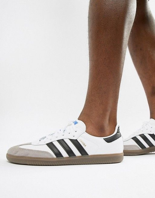 1ccb08f1869a5 adidas Originals Samba OG Sneakers In White B75806 | Summer wear ...
