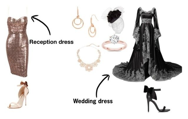 Here comes the bride: scarlett by lilithmartinez on Polyvore featuring beauty, Rachel Trevor-Morgan, Kate Spade, Kenneth Cole, Sophia Webster and Miss Selfridge