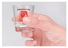 Wedding Shot Glass Image