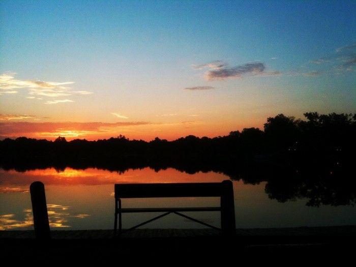 6. There might not be a more picturesque lake in Wisconsin than Fowler Lake. Check out that sunset.