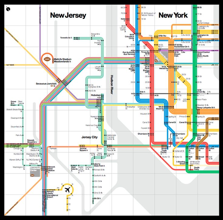 Thanks to the Super Bowl, New York Has Its Very First Regional Transit Map - CityLab