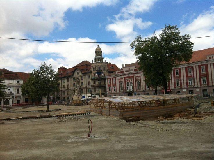 Sunt planuri cu vestigiile istorice din centrul Timisoarei, dar nu si bani pentru a le pune in valoare