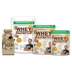 Jay Robb chocolate whey protein powder