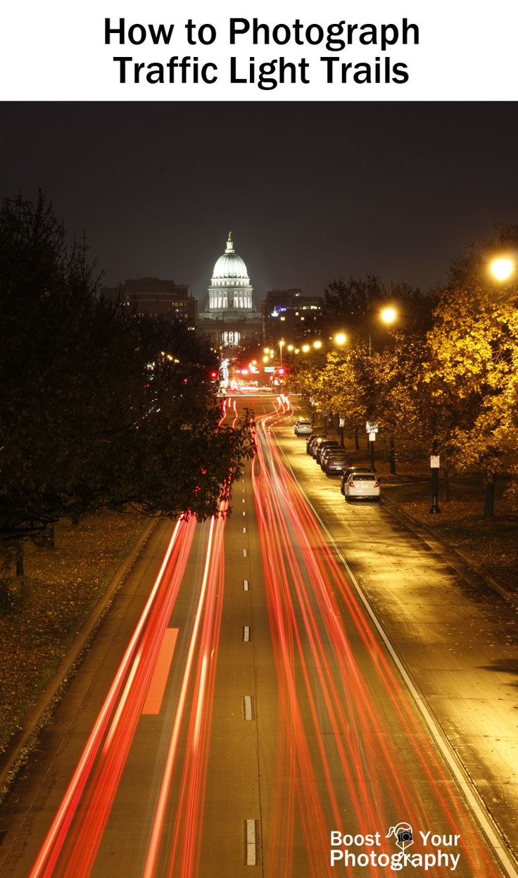 How to Photograph Traffic Light Trails | Boost Your Photography