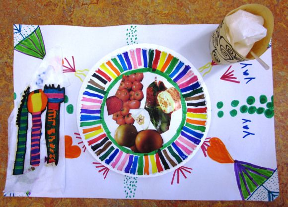 Healthy Eating, Healthy Fun in Grade Two | Art Lessons For Kids