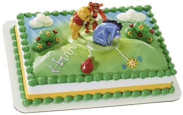 Winnie The Pooh New Tail for Eeyore cake decoration