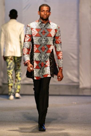 Alain Niava @ Kinshasa Fashion Week 2013 | FashionGHANA.com (100% African Fashion)