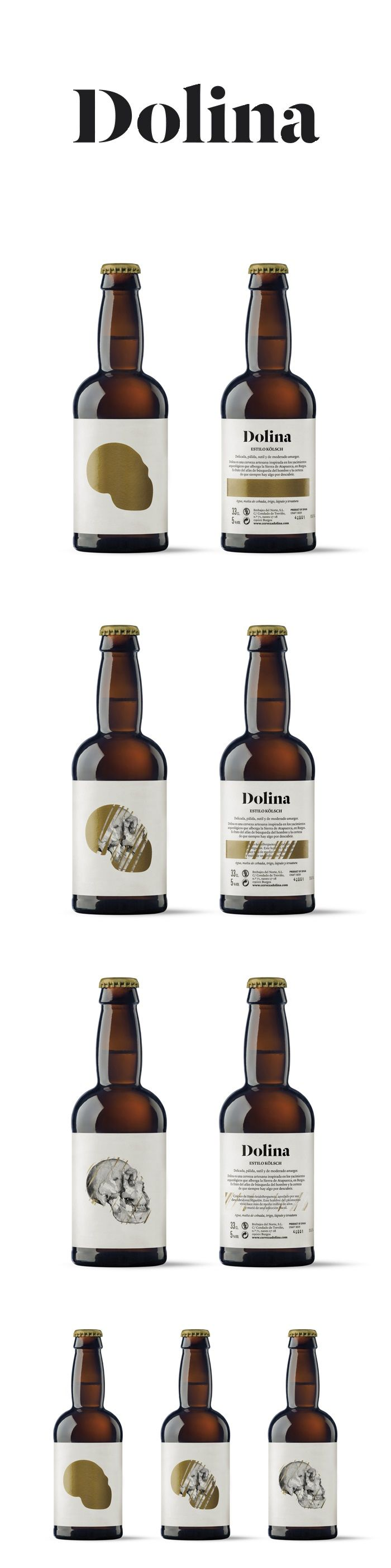 Love the concept of this Dolina beer bottle - scratch it, I dare ya!