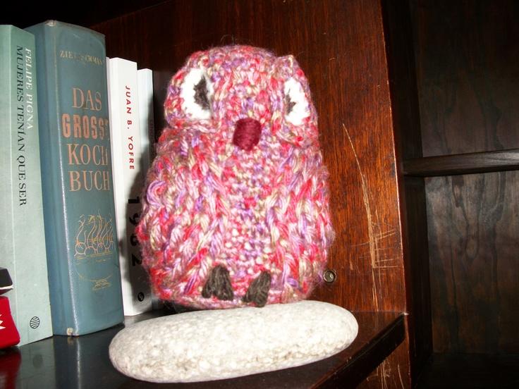 Lechuza crochet, no requiere de campanario