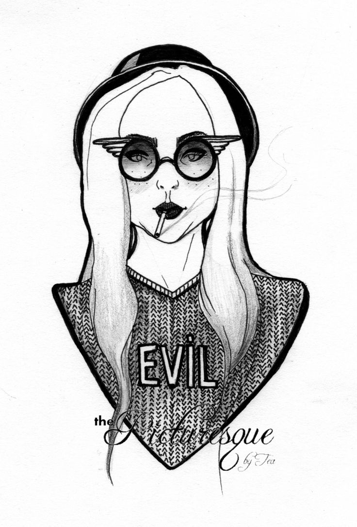 EVIL 2014 marker, pencil by The Picturesque