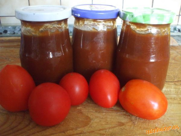 ♥Výborný kečup, náš rodinný recept♥