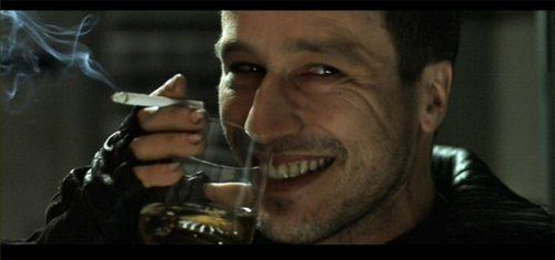 Michael Wincott.. His character died too early in Alien Resurrection. I like watching him work.