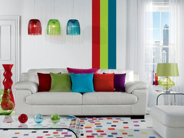 125 best images about wandfarben on pinterest | eclectic living ... - Wohnzimmer Ideen Farbgestaltung