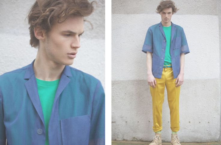 Colour Blocking Trend | Using summers hottest colours in yellow and blue. For affordable designer fashion visit www.hypedirect.com