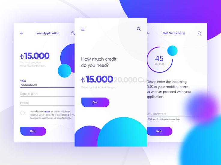 Loan Application by Alper Tornaci #Design Popular #Dribbble #shots