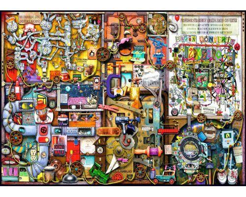 Puzzle Ravensburger El Armario del Inventor 1000 Piezas