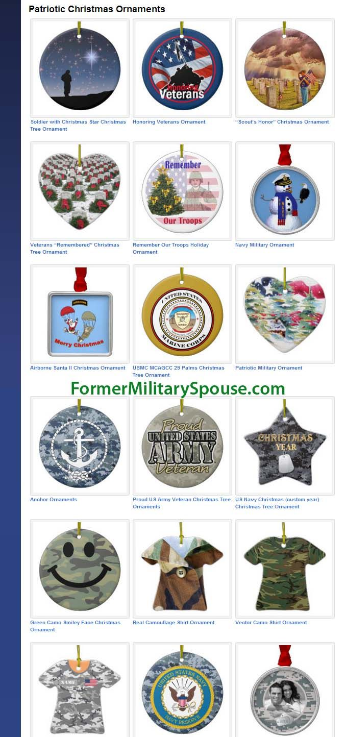 17 Best images about Military Christmas Ornaments on Pinterest ...
