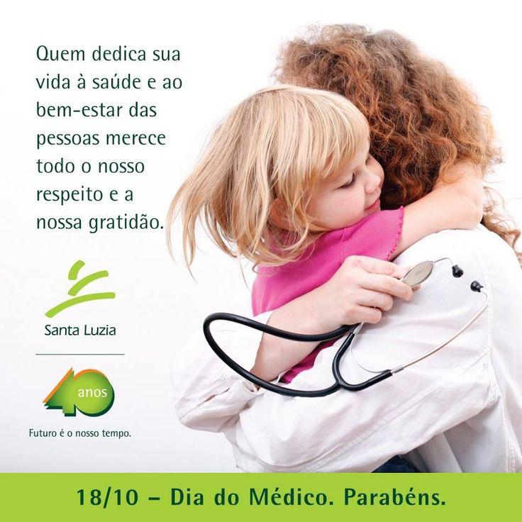 Dia do Médico (facebook) - Laboratório Santa Luzia