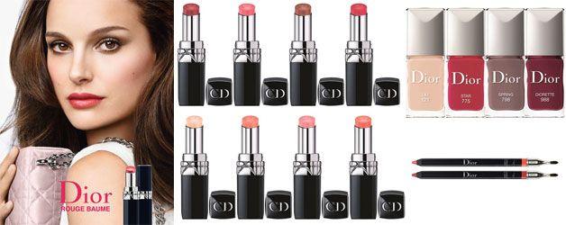 Collezione Make Up Dior Rouge Baume per l'autunno/inverno 2014/2015