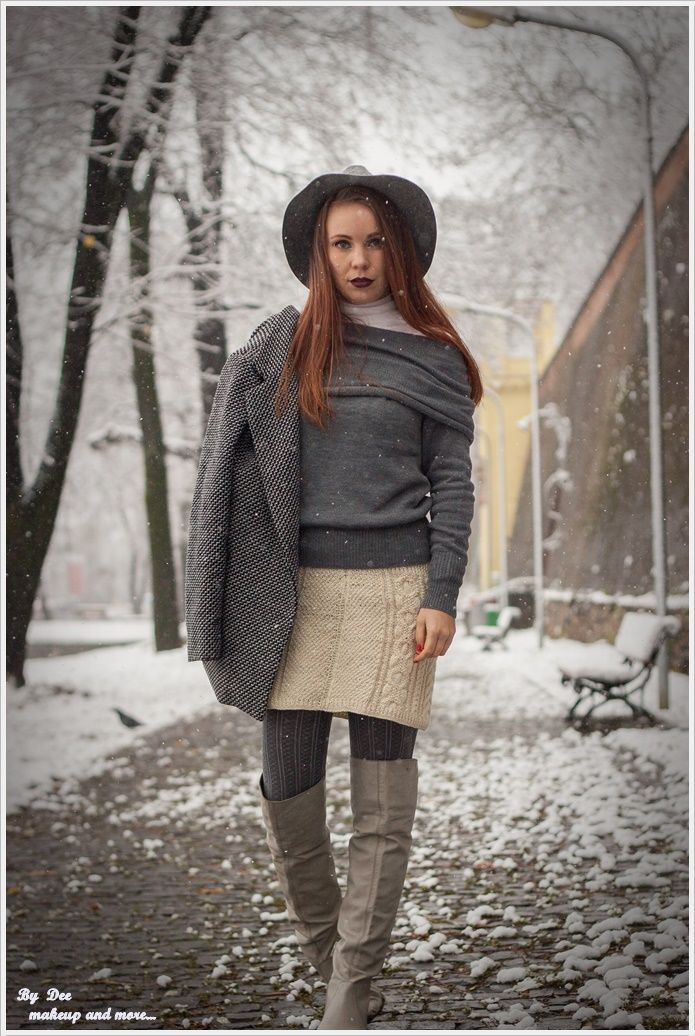 OOTD: Shades of grey ~ By Dee make-up and more