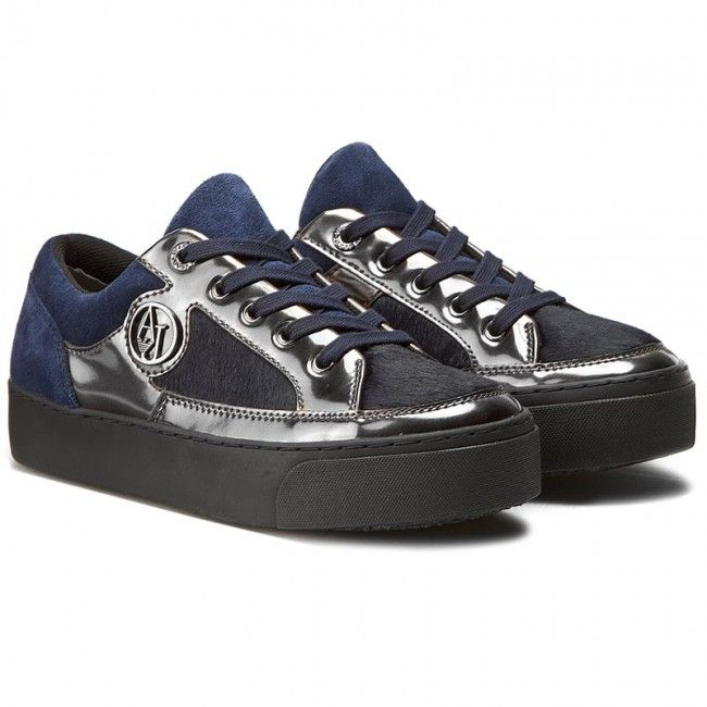 Sneakers ARMANI JEANS - 925010 6A431 31835 Dark Navy