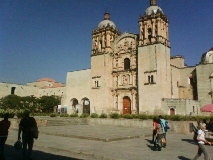 Catedral de Santo Domingo, Oaxaca.Mexico