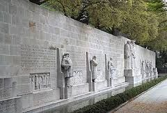 Reformation Wall Monument in Geneva, Switzerland; The International Monument to the Reformation, usually known as the Reformation Wall, is a monument in Geneva, Switzerland.... Shawn Frank