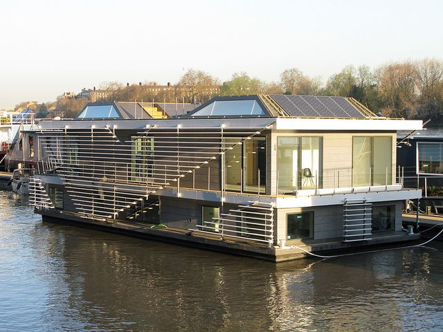 Sanitov House Boat is an Affordable and Sustainable Residential Option |  London Property Market.co.uk