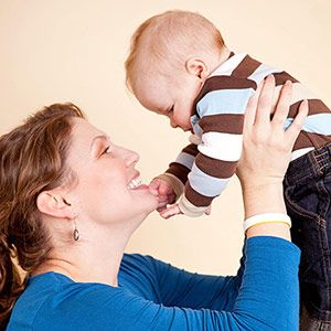 Activities to Boost Cognitive Development: 3-6 Months: More Activities for 3-6 Month Babies (via Parents.com)