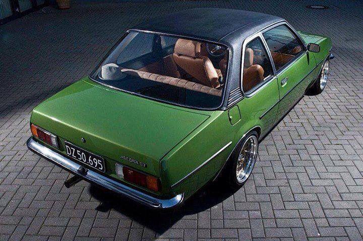 Opel  Ascona, my first car.