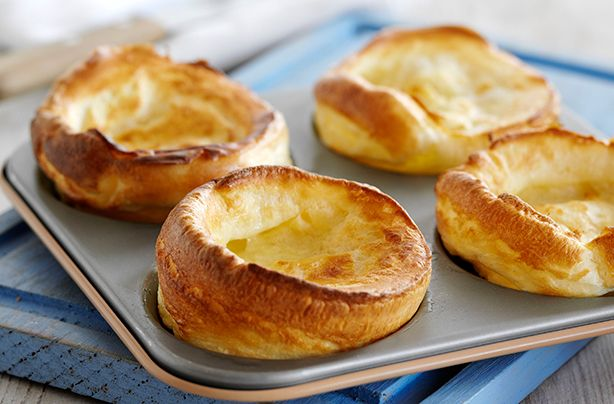 We've got Dave's mam's Yorkshire pudding recipe straight from The Hairy Bikers' Food Tour of Britain, to serve with black pudding sausages and a beer and onion beef gravy. This classic Yorkshire pudding recipe is perfect served as part of your Sunday roast dinner. This recipe serves 4 people and takes 2hrs and 55 mins to prepare and cook. These easy to make Yorkshire puds will be soft and doughy but with a crispy, golden finish - the perfect combination. Cook in oil or goose fat and serve…