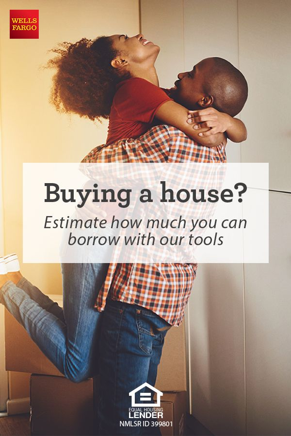 Buying a house? Estimate how much you may be able to borrow with today's mortgage rates and refinance rates. Use our Wells Fargo tools to help you get started.