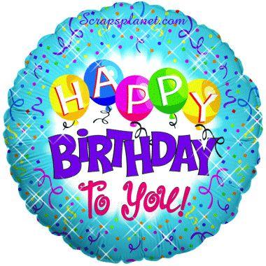 animated happy birthday wishes 4u | Happy Birthday Orkut Scraps, Cute Birthday Wishes, Birthday Glitter ...