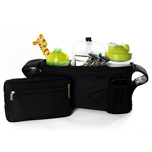 K-JYBA Pram Stroller Organizer Bag Cup Holders Cellphone holder Mesh Pocket Zip-off Pouch Universal Fit Large Space Capacity. For product info go to: https://all4babies.co.business/k-jyba-pram-stroller-organizer-bag-cup-holders-cellphone-holder-mesh-pocket-zip-off-pouch-universal-fit-large-space-capacity/