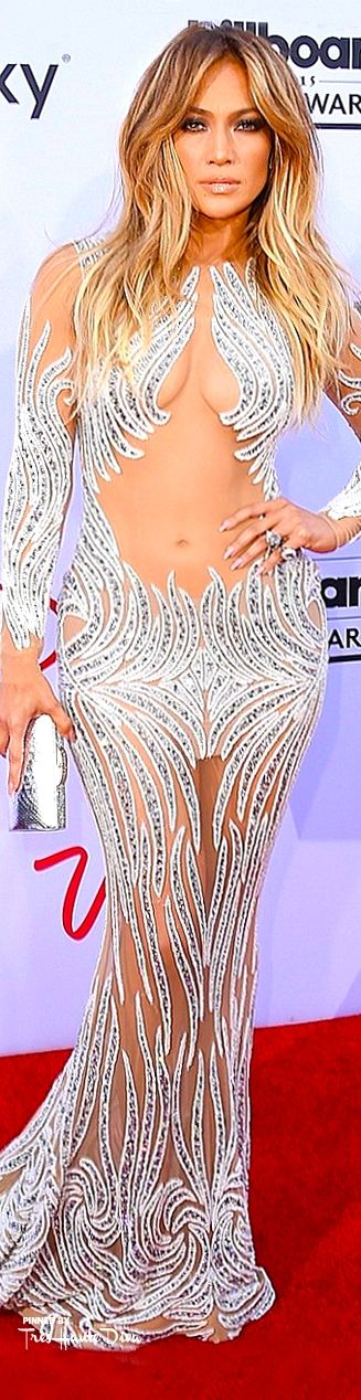 Jennifer Lopez in Charbel Zoe Couture at the 2015 Billboard Music Awards— Très Haute Diva