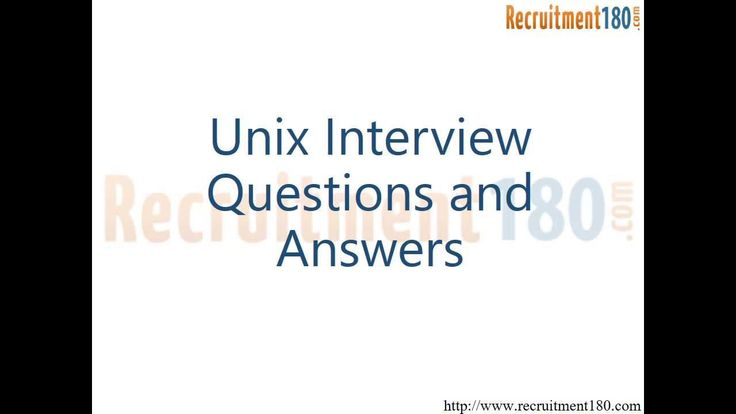 Unix Interview Questions and Answers This video includes some of the basic unix frequently asked questions which will help you to learn unix.