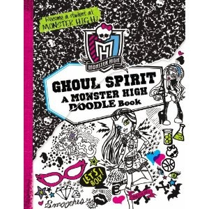 new monster high doodle book