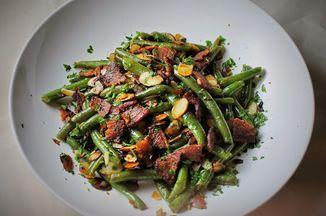 Marie's green bean almondine Recipe on Food52, a recipe on Food52