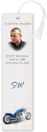 Best Memorial Bookmarks W Prayer Poem Or Obituary Images On