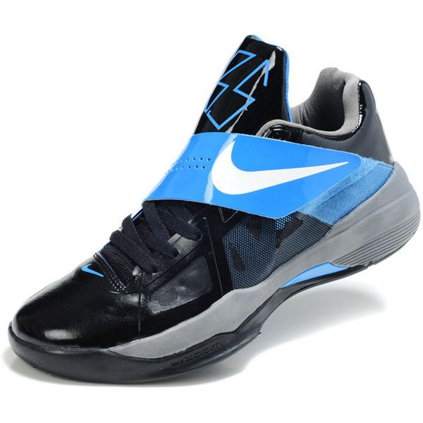 Buy Kevin Durant shoes cheap in 2012 KD IV Black Varsity Royal 4736 79.