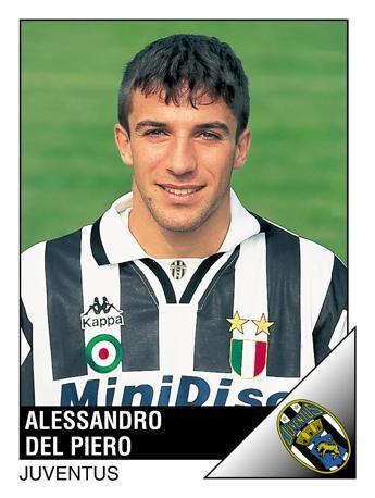 E un giovanissimo Del Piero in una delle prime stagioni alla Juve