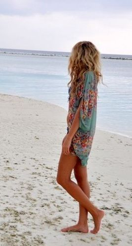 Lovely Summer Cover Up Beach Fashion Trends, Kimonos and Kaftans